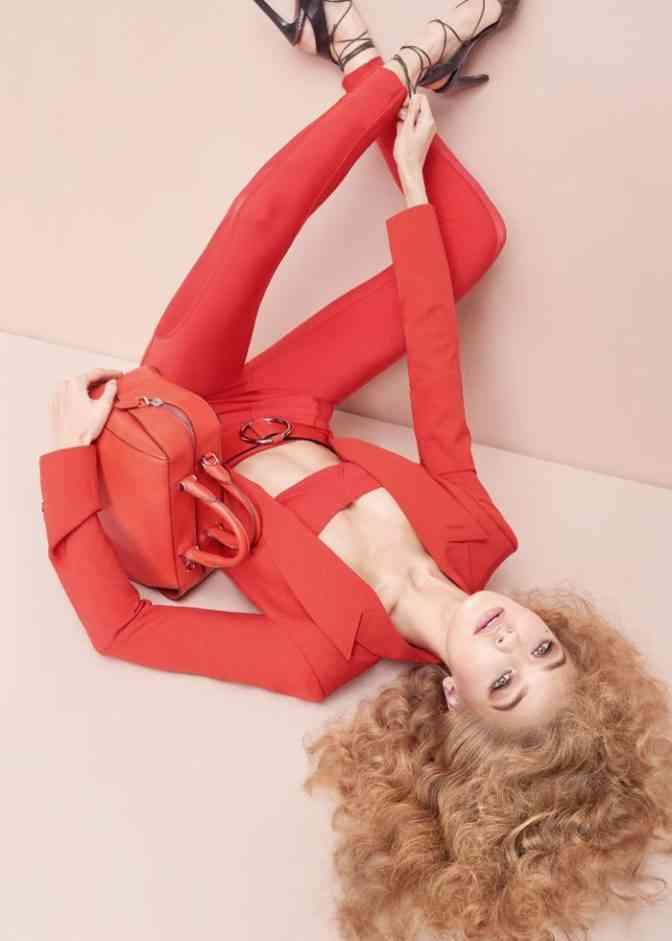 genti Gigi Hadid for Max Mara Accessories Spring 2017 Campaign