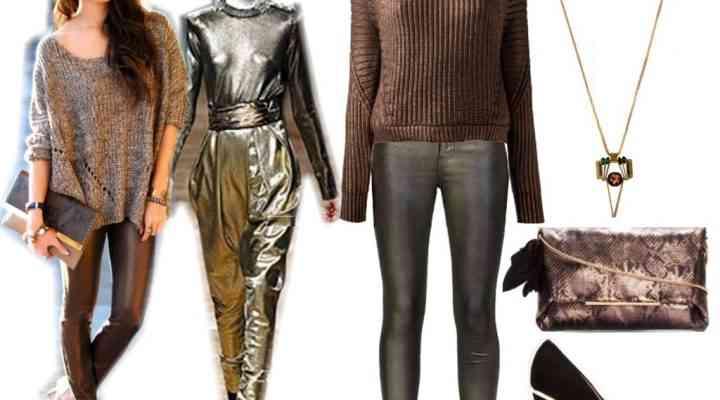 Moduri de a purta culorile metalice în acest sezon