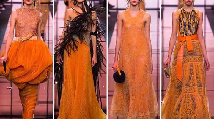 Colecția Giorgio Armani Prive Couture pentru primăvara 2017