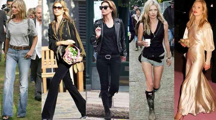 Stil de vedetă: Kate Moss