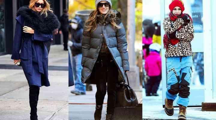 Stil de vedetă: ținuta de iarnă