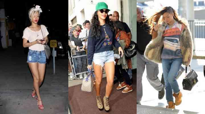 Stil de vedetă: Rihanna