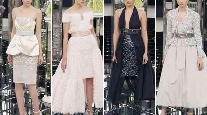 Colecția Chanel Couture pentru primăvara / vara 2017