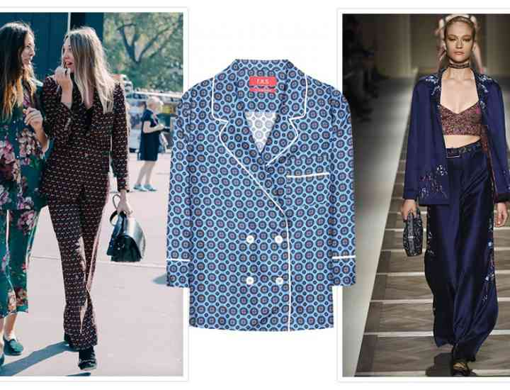 Tendința pijama – noua obsesie din lumea modei