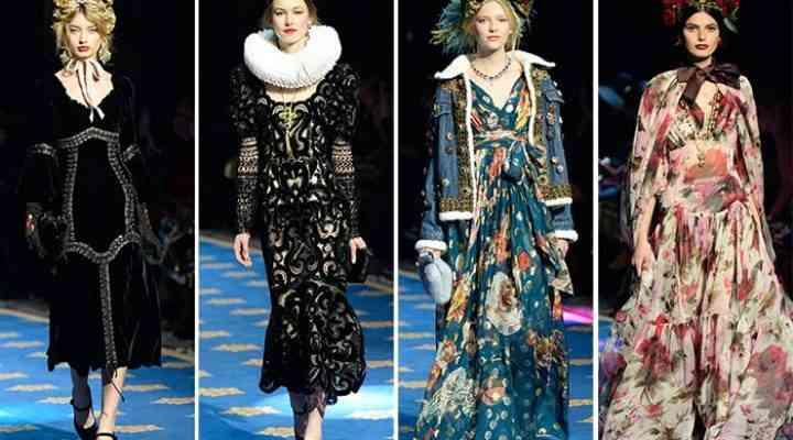 Colecția Dolce & Gabbana Alta Moda pentru primăvara 2017