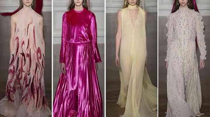 Colecția Valentino Couture pentru primăvara 2017