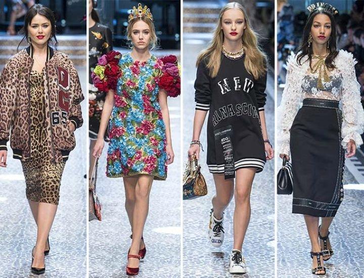 Colecția Dolce & Gabbana pentru toamna / iarna 2017-2018