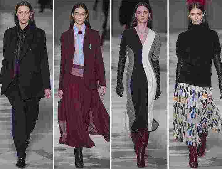 Colecția Victoria Beckham pentru toamna/ iarna 2017-2018
