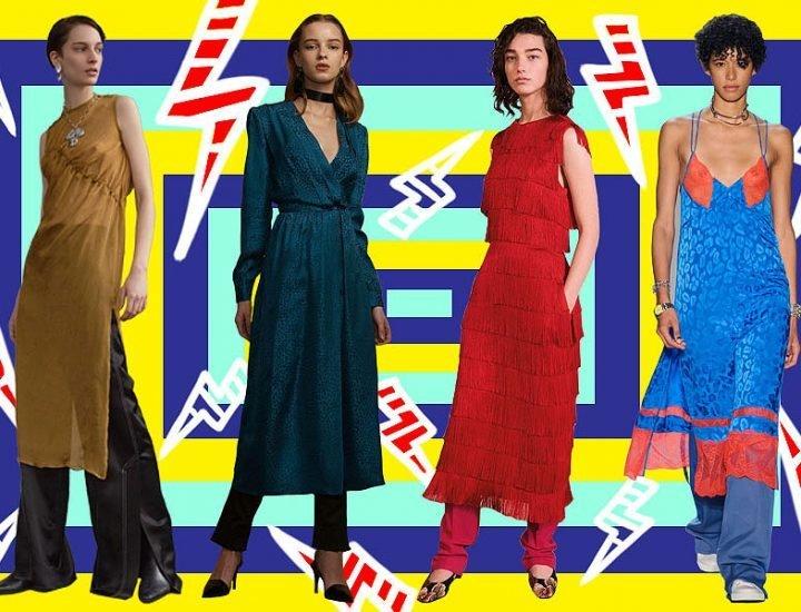 Tendințe 2017: cum să porți rochia cu pantaloni