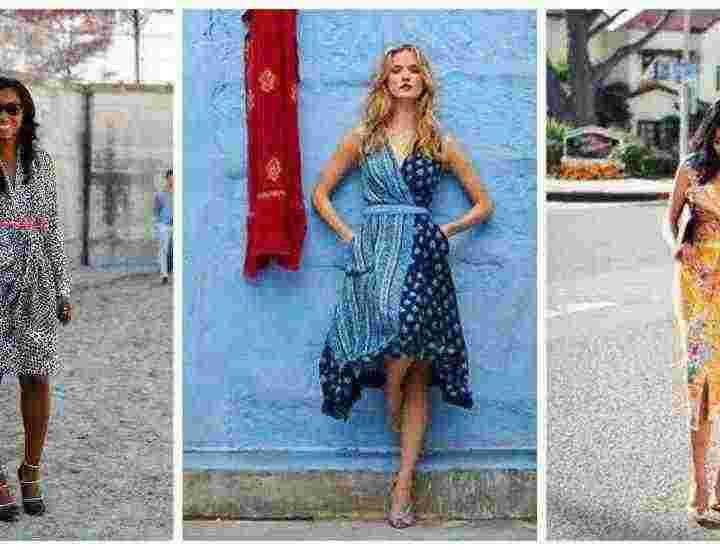 Cum să porți rochia drapată în această primăvară