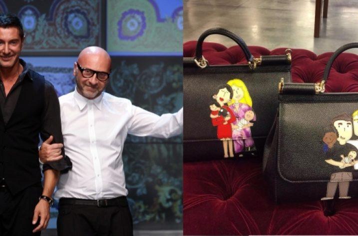 Dolce & Gabbana lansează o colecție de genți pentru cuplurile gay cu copii