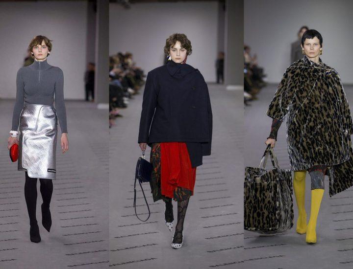 Colecția Balenciaga toamnă-iarnă 2017-2018