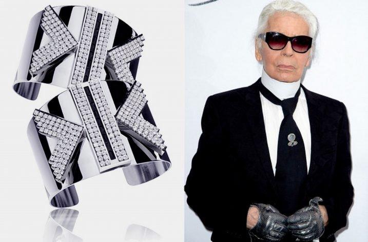 Karl Lagerfeld proiectează o colecție de bijuterii pentru Swarovski