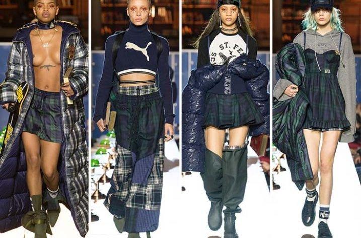 Rihanna lansează o nouă colecție în colaborare cu Puma