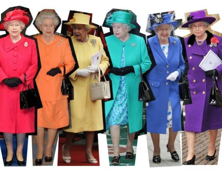Stilul vestimentar al Reginei Elisabeta a II-a