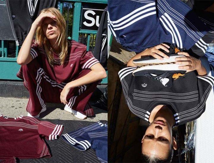 Linia Alexander Wang x Adidas Originals primăvara 2017 este disponibilă în magazine