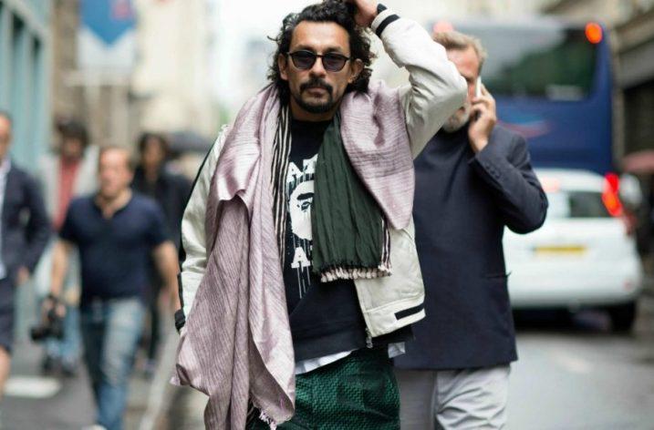 Ghid de stil pentru bărbați: eșarfa