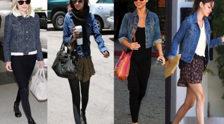 3 stiluri la modă de a purta o jachetă din denim