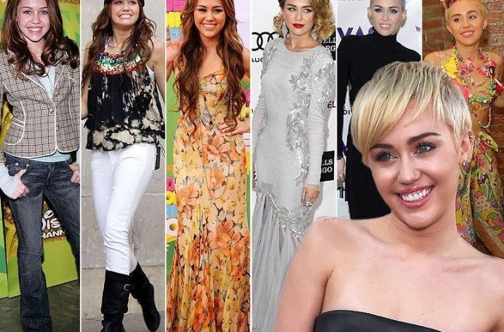 Stil de vedetă: Miley Cyrus