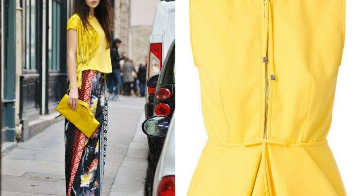5 moduri în care poți purta galben în primăvara-vara 2017