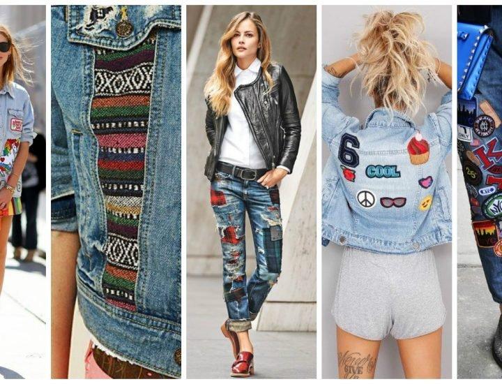 Patch-urile pe haine, o tendință ușor de adoptat în 2017