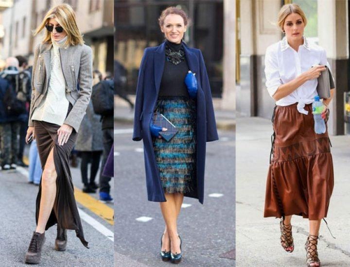 Cum să fii la modă într-o fustă midi