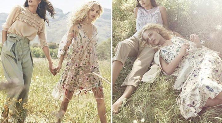 H & M lansează o colecție boho-chic pentru primăvara 2017