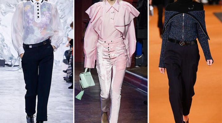 Pantaloni la modă în primăvara-vara 2017