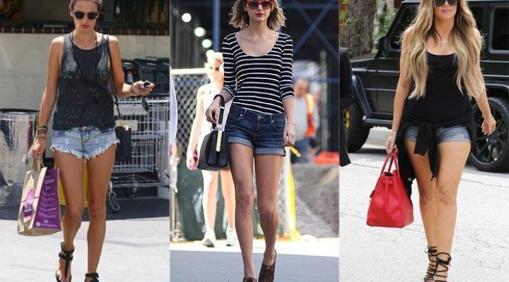 Pantaloni scurți de blugi 2017