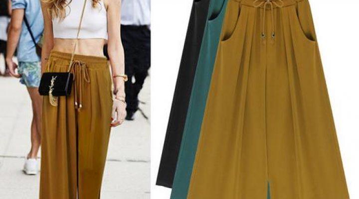 Ghid de stil: pantalonii Palazzo