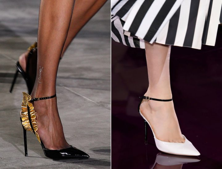 Pantofi la modă în primăvara-vara 2017
