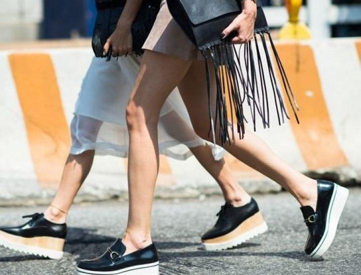 Încălțămintea cu platformă la modă în 2017
