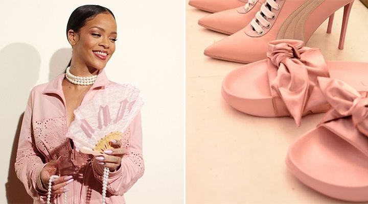 Fenty Rihanna x Puma o nouă colecție de adidași pentru primăvara 2017
