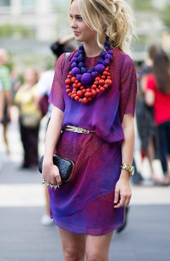 cum sa porti violet