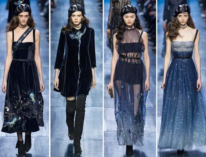 Dior lansează o colecție eterică pentru toamna / iarna 2017-2018