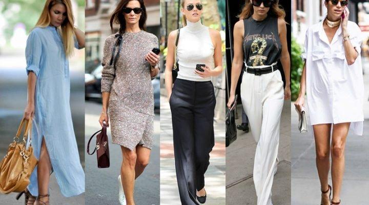 Trucuri de stil pentru femeile înalte