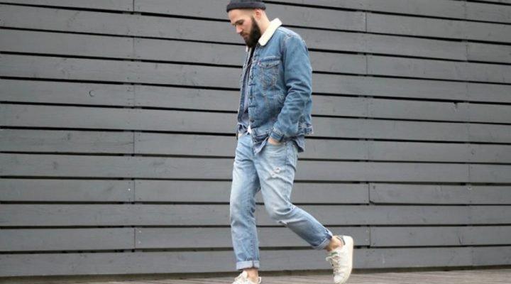 """Modă barbați: cum să porți tendința """"denim cu denim"""""""