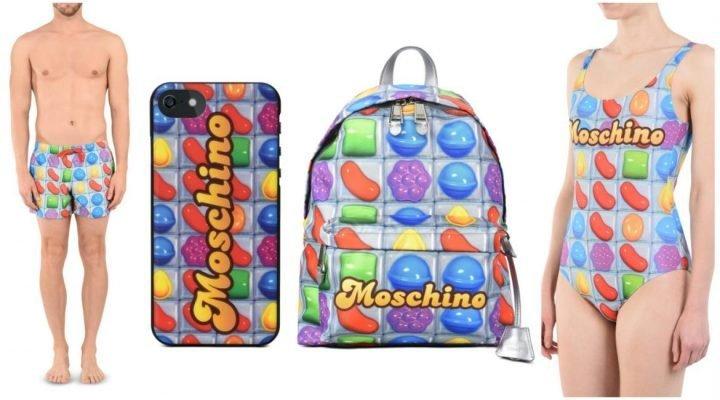 "Colecția Moschino ""Candy Crush"" pentru Coachella 2017"