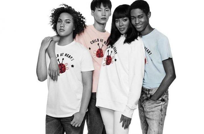 Diesel și Naomi Campbell lansează o colecție caritabilă de tricouri must-have