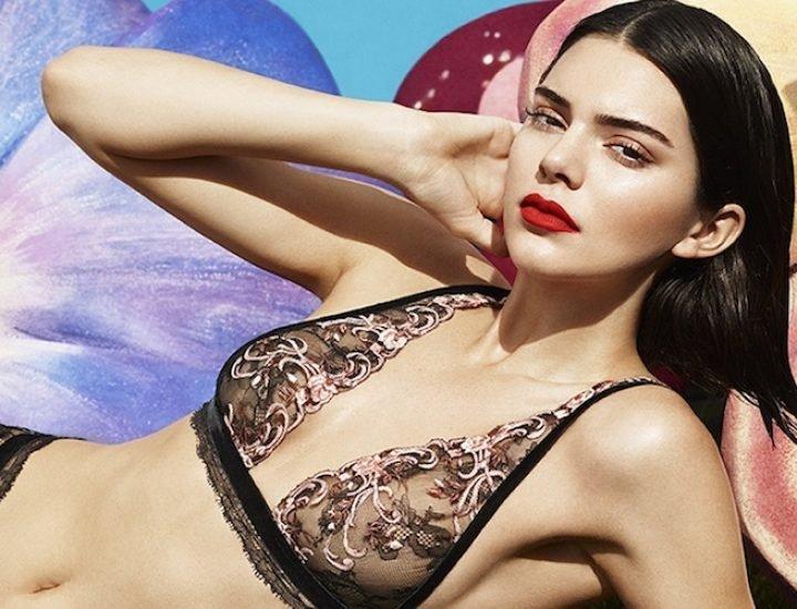 Kendall Jenner prezintă campania de pre-toamnă La Perla din 2017