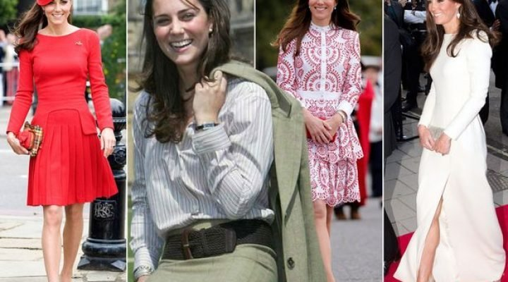Evoluția de stil a lui  Kate Middleton