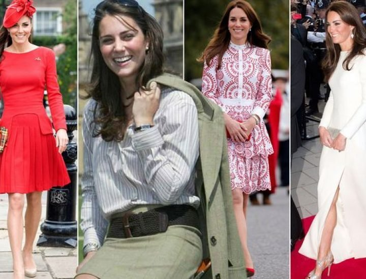 Evoluția de stil a lui  Kate Middleton