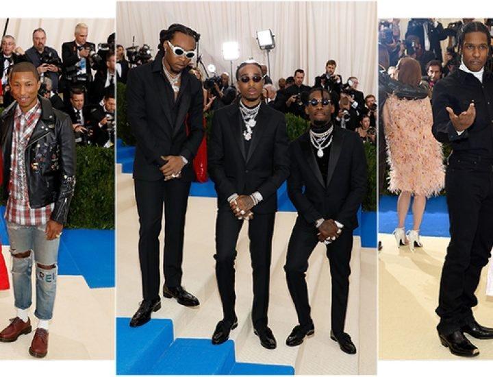 Cel mai bine îmbrăcați bărbați de la Met Gala 2017