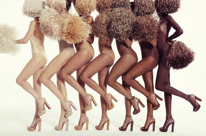 Christian Louboutin adaugă noi sandale nude la colecția de primăvară/vară 2017
