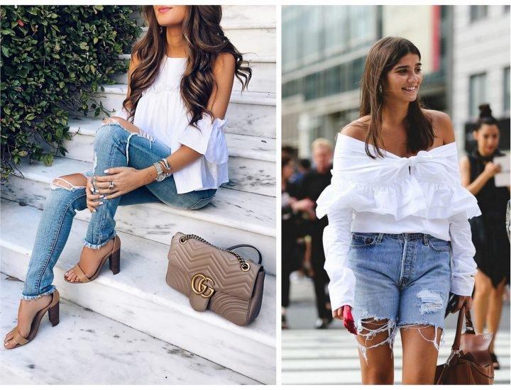 Topuri și bluze care se poartă în această vară