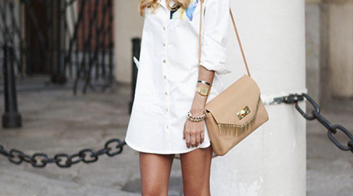 Cum să porți cu stil rochia-cămașă