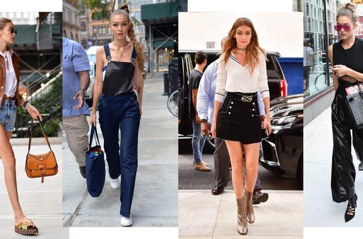 Gigi Hadid – cele mai bune look-uri de stradă