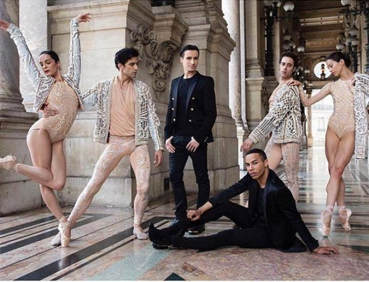Costumele create de Balmain pentru The Paris Opéra sunt totul despre glamur