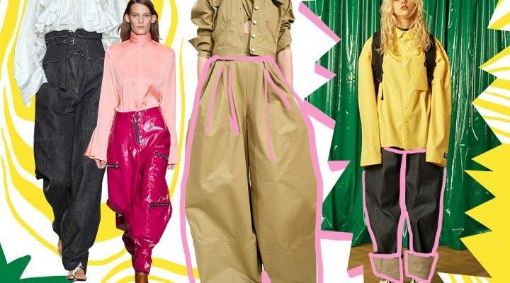 Pantalonii XXL, o nouă tendință în vara 2017