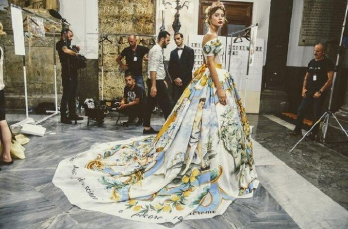 Colecția Dolce & Gabbana Alta Moda 2017 prezentată la Palermo